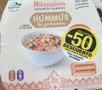 Hummus de garbanzos con pimiento - Producto - es