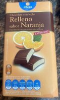 Chocolate con leche relleno Sabor naranja - Producte - es