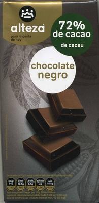 Tableta de chocolate negro 72% cacao - Product