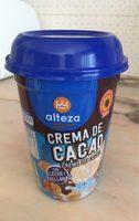 Crema de cacao - Producte