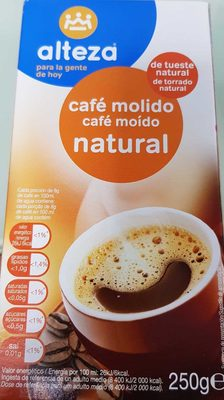 Cafe molido Natural - Produit
