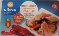 Mejillones en escabeche picantes - Produit - es