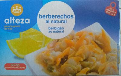 Berberechos al natural - Product