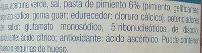 rellenas de pimineto - Ingredients