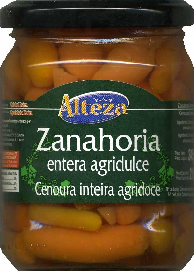 Zanahorias entera agridulce - Produit - es