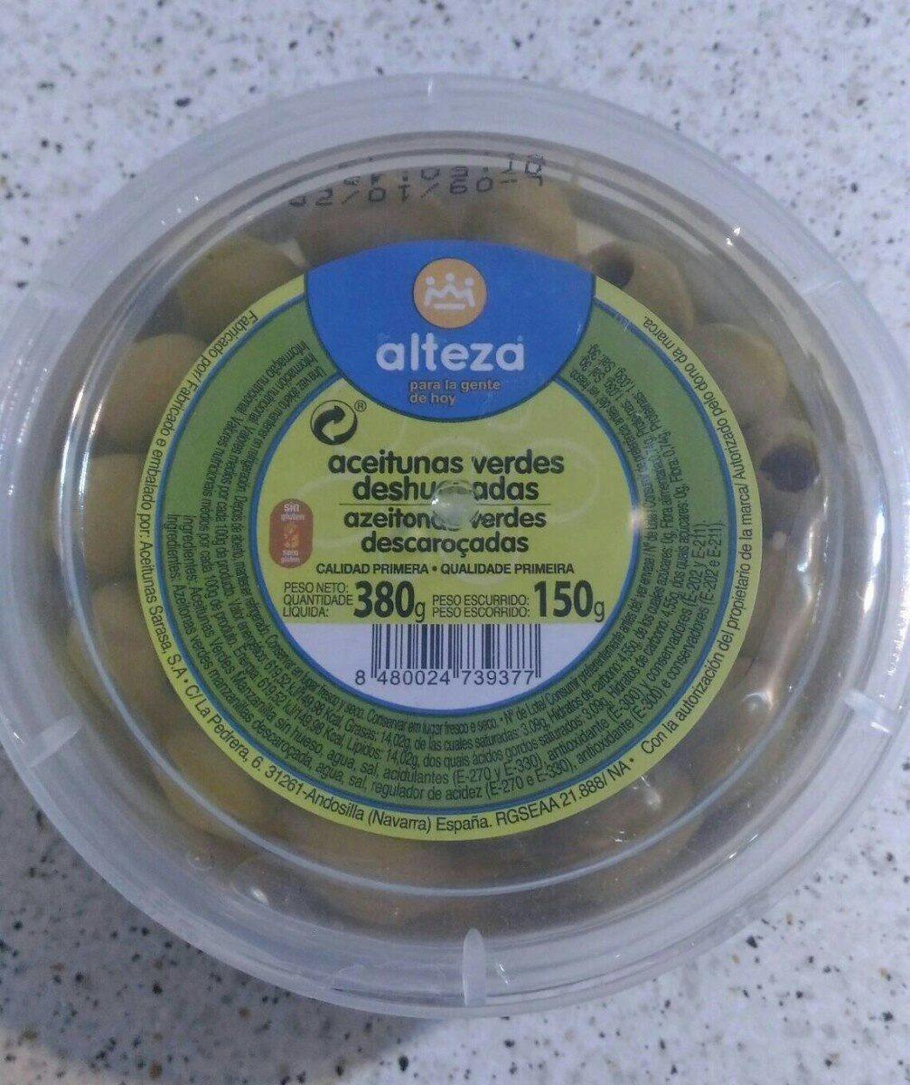 Aceitunas verdes deshuesadas - Producte - es