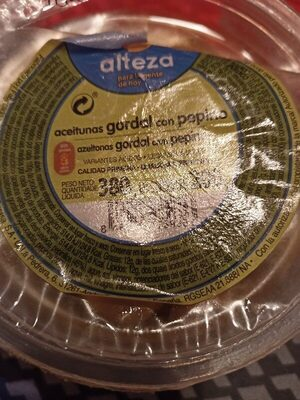 Aceitunas verdes deshuesadas - Ingredients - es
