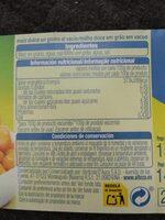 Maiz Dulce Alteza - Información nutricional - es