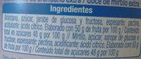 Mermelada de arándanos - Ingredienti - es
