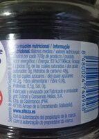 Mermelada de arándanos - Valori nutrizionali - es