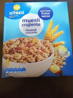 Cereales Muesli C / Frutos Seco Alteza