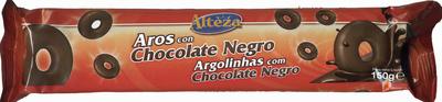 Aros de chocolate negro