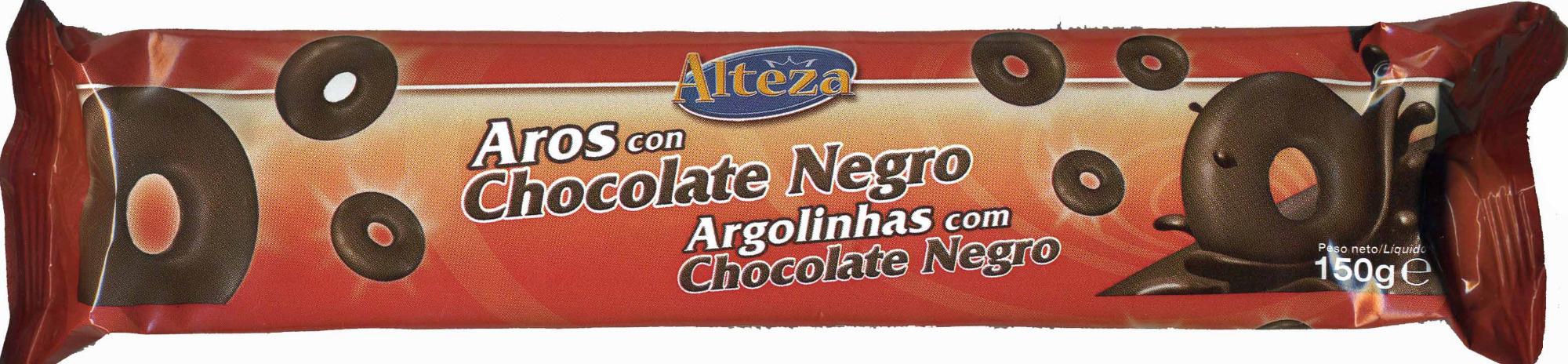 Aros de chocolate negro - Product