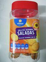 Galletas redondas saladas - Product - es