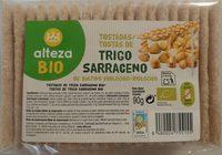 Tostadas de Trigo Sarraceno de Cultivo Ecológico - Producto