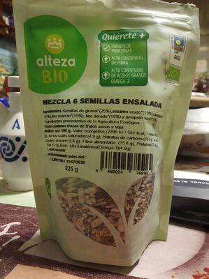Mezcla 6 semillas ensalada - Producto - es