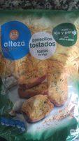 Panecillos tostados con ajo y peregil - Producto - es