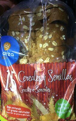 Pan de molde 15 cereales y semillas