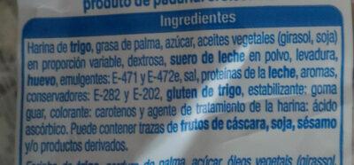 Croissant alteza - Ingredientes - es