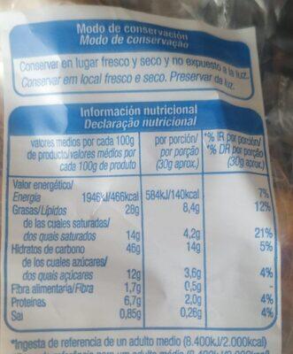 Croissant alteza - Información nutricional - es