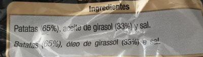 Patatas frutas extracrujientes - Ingrédients - es