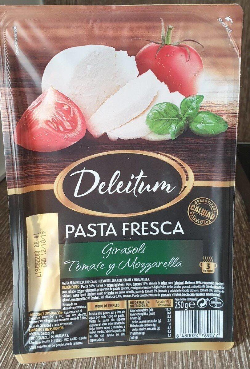 Pasta Fresca Girasoli Tomate y Mozzarella - Producte - es