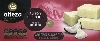 Turrón de coco - Produit