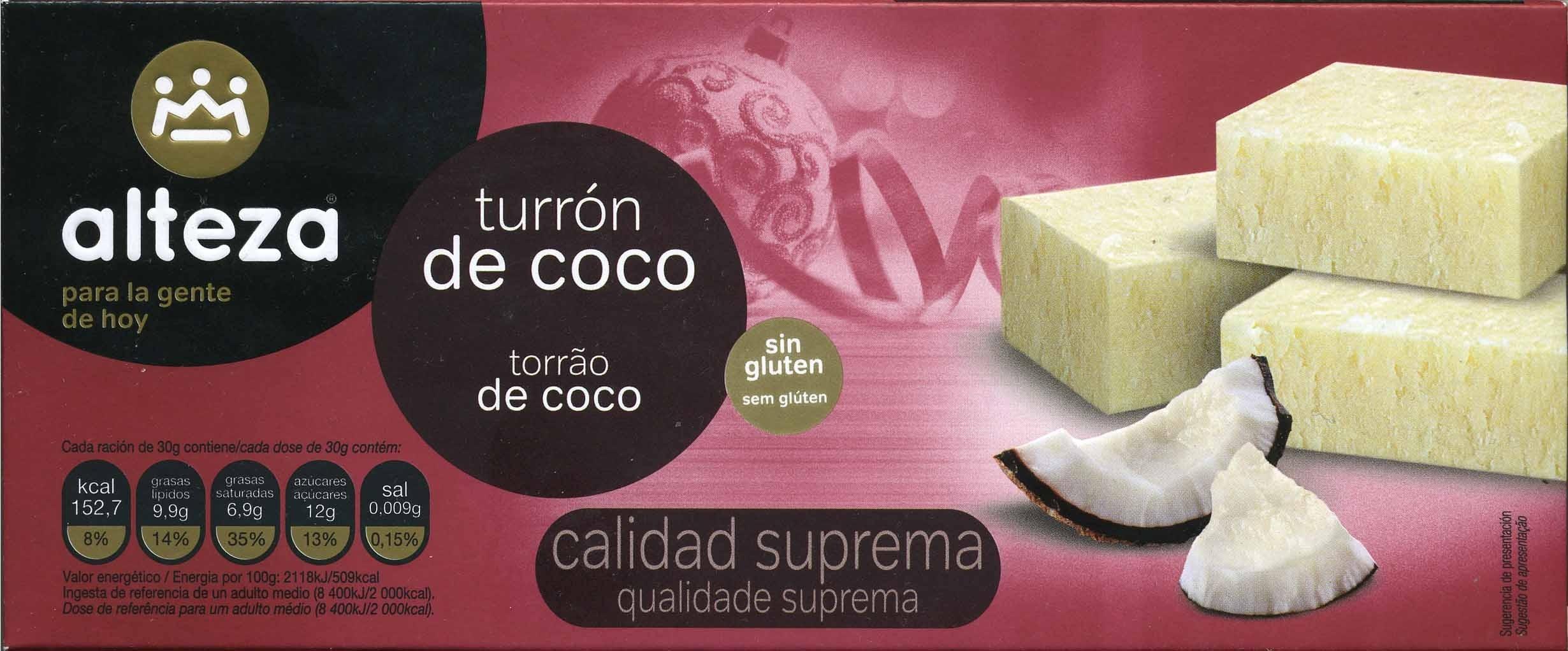 Turrón de coco - Produit - es