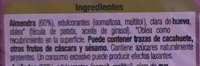 Turrón imperial - Ingredientes - es