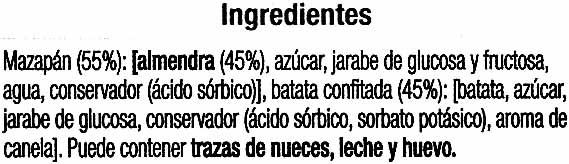 Pasteles de Gloria - Ingredientes - es