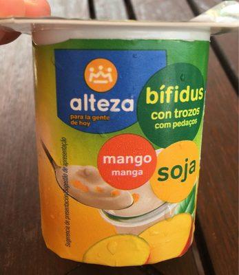 Bífidus con trozos mango soja - Produit