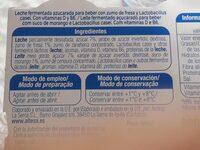 L CASEI - Ingredientes