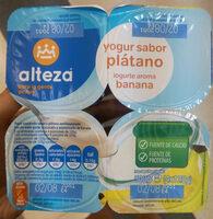 Yogur platano - Producto - es