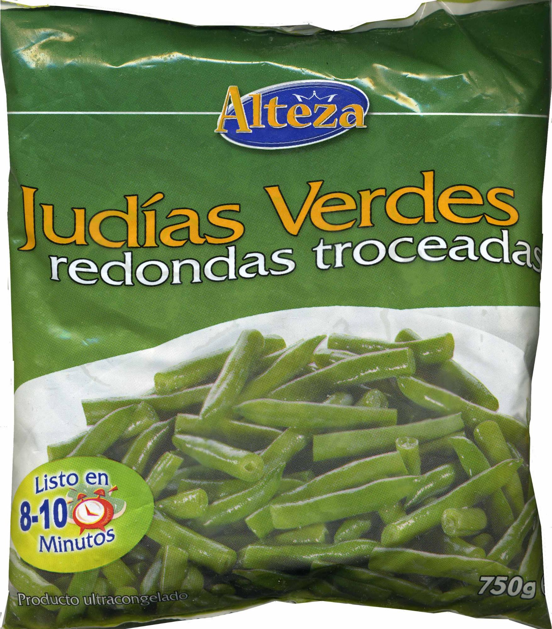 """Judías verdes redondas troceadas congeladas """"Alteza"""" - Produit - es"""