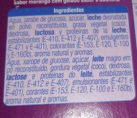 Vampi cola - Informació nutricional
