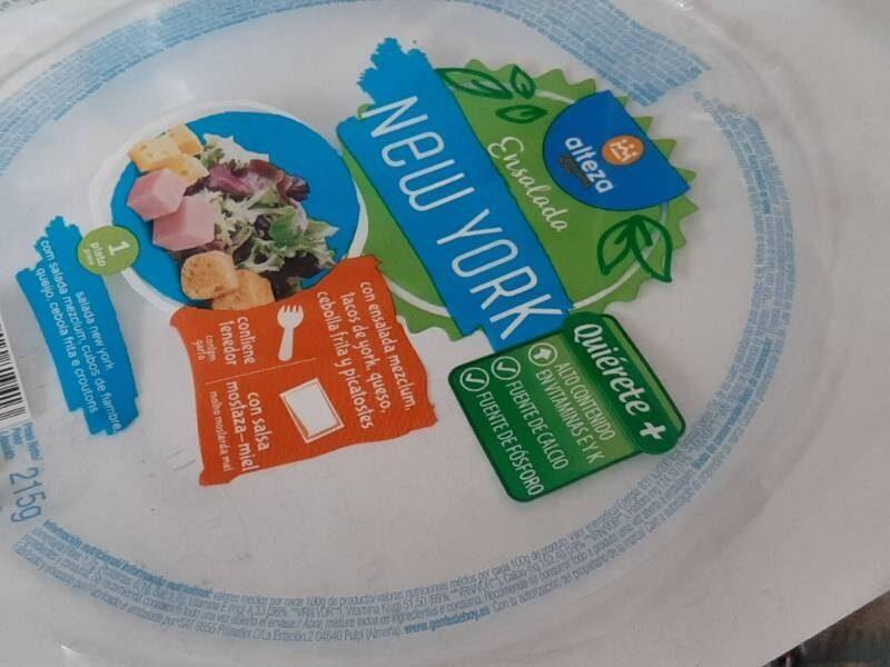 Ensalada new york - Información nutricional - es