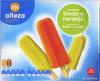 """Helados de hielo """"Alteza"""" Limón y naranja - Producto"""