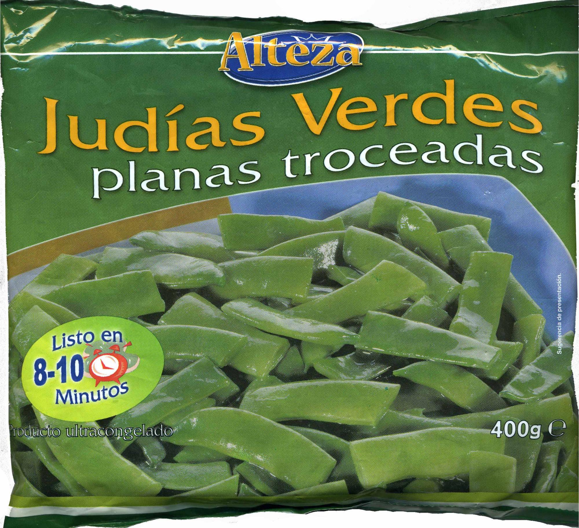 """Judías verdes planas troceadas congeladas """"Alteza"""" - Product"""