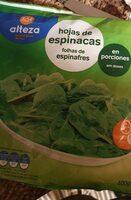 Espinacas congeladas - Producte