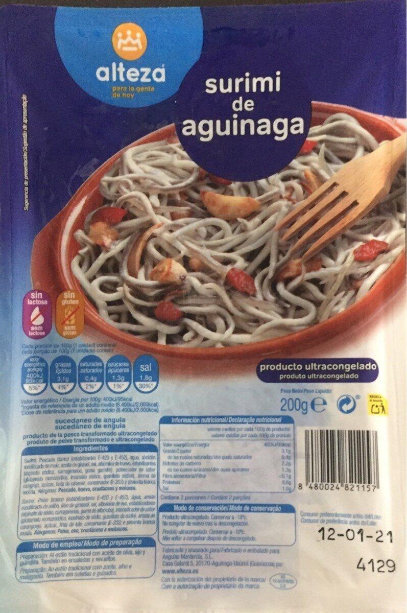 Surimi de aguinaga - Producte
