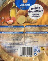 Tortilla de patatas - Producto