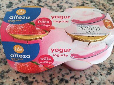Yogur fresa