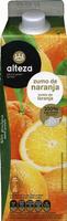 """Zumo de naranja exprimida refrigerado sin pulpa """"Alteza"""" - Producte"""