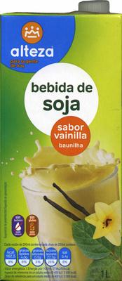 Bebida de soja sabor vainilla - Product - es