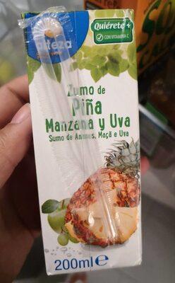 Zumo de piña manzana y uva - Product - es