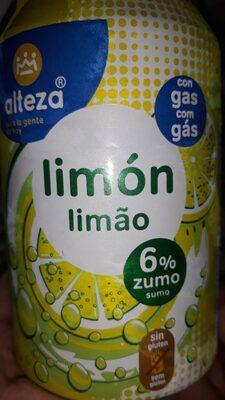 Refresco de lumón con gas