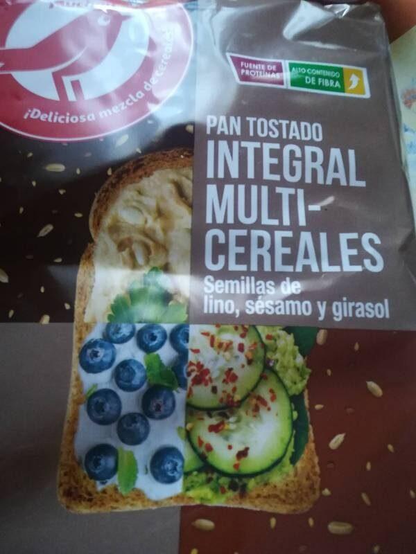 Pan tostado integral multicereales - Producto - es