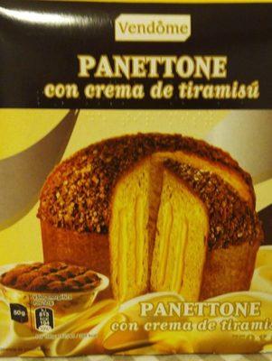 Panettone con Crema de Tiramisú - Producto