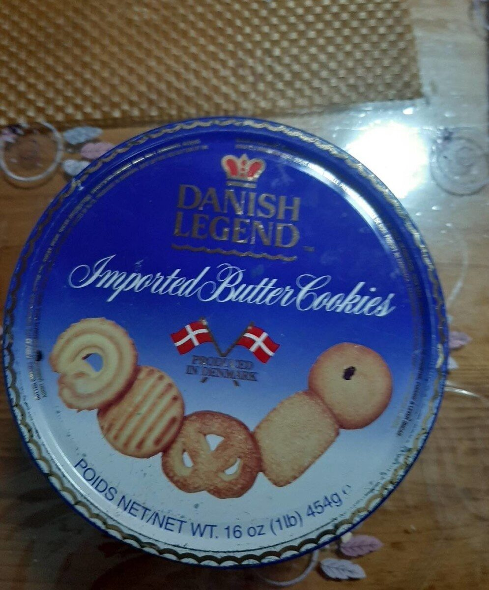 Imported Butter Cookies - 产品 - es