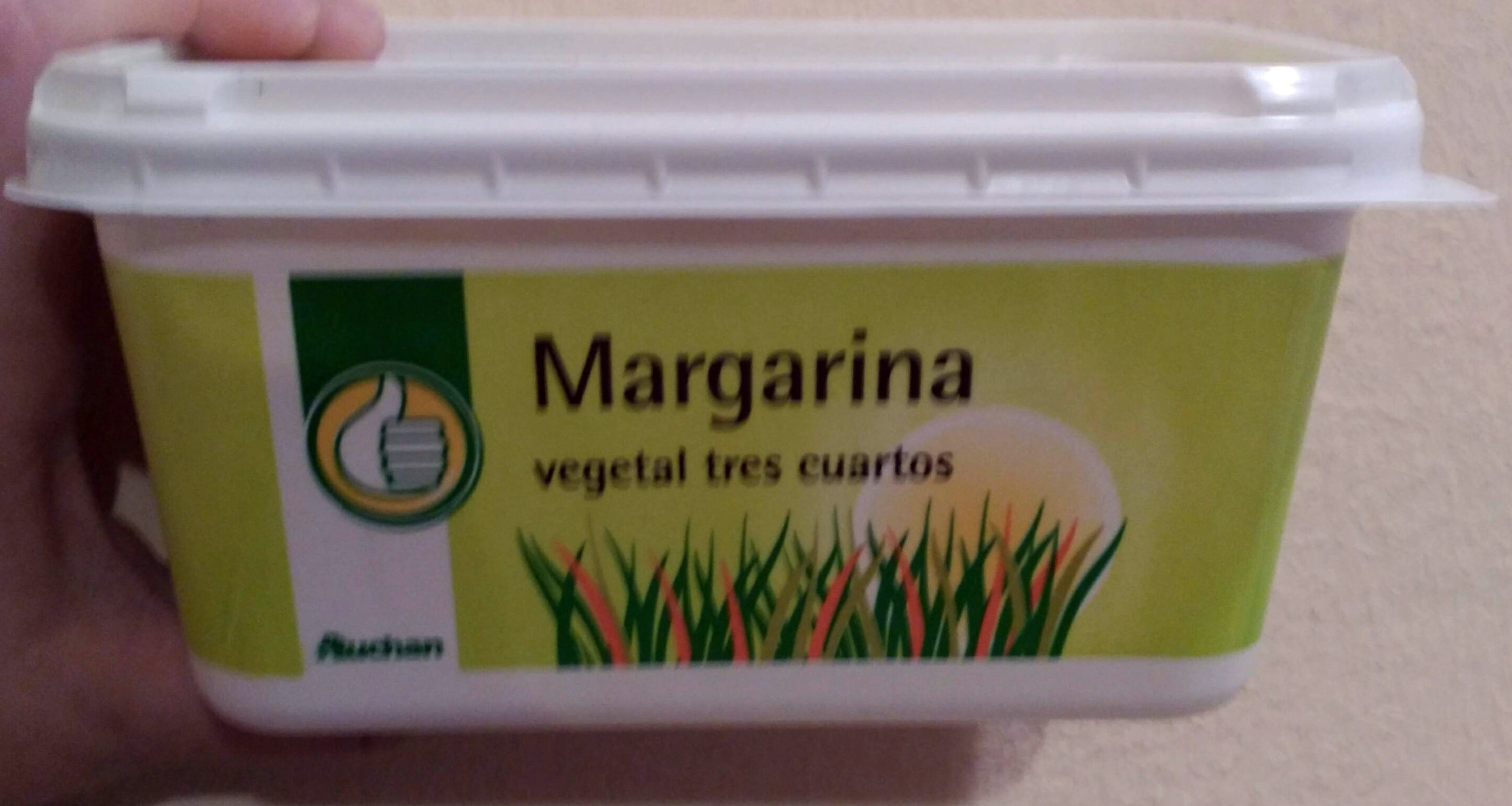 Margarina vegetal tres cuartos - Produit